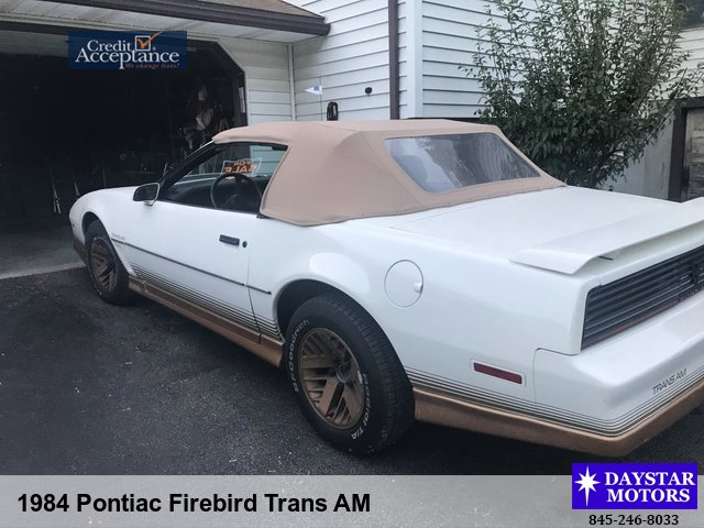 1984 pontiac firebird trans am daystar motors 2865 rt 9w saugerties ny 12477 845 246 8033 homedaystar motors 2865 rt 9w saugerties ny 12477 845 246 8033